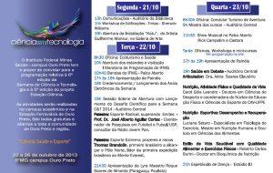 Folder Semana C&T 2013