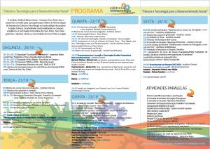 Folder Semana C&T 2014