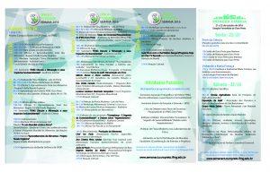 Programação Semana de Ciência e Tecnologia 2016 do IFMG - Campus Ouro Preto