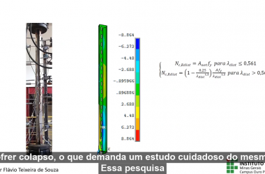 CONHECIMENTO EM UM MINUTO | Comportamento e dimensionamento de perfis formados a frio com perfurações