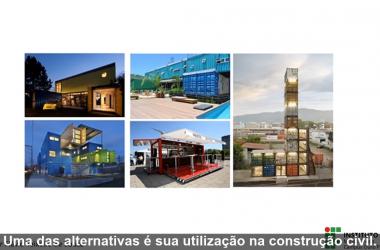 CONHECIMENTO EM UM MINUTO | Utilização de contêineres marítimos na construção civil